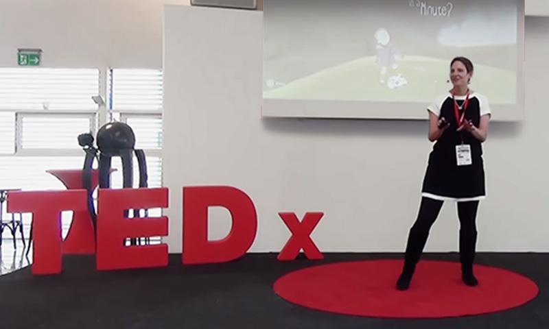 Elkes Auftritt beim TEDxMünster