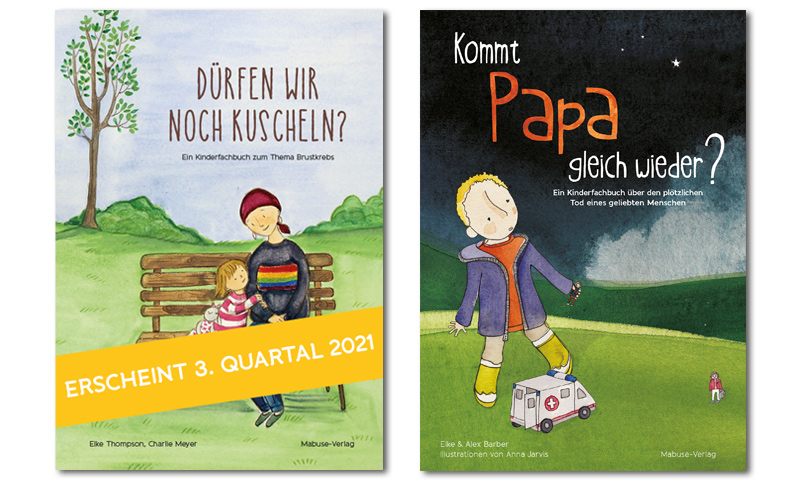 Titelseiten der Kinderbücher